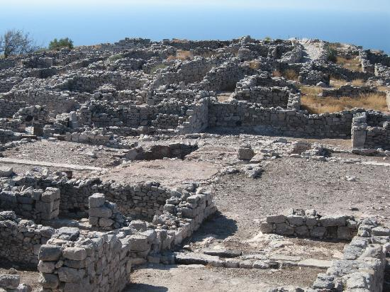 Ancient Thera : Ancient Thira Ruins