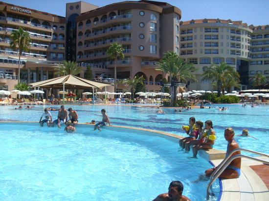 Kirman Hotels Arycanda De Luxe Familienzimmer