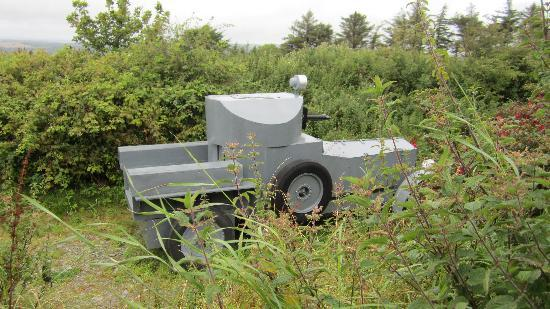 Clonakilty, Ireland: Armoured car replica