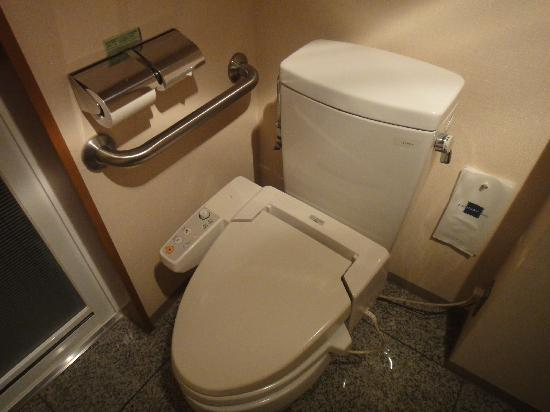 Hotel Rose Garden Shinjuku: Japanese toilets are definitely an experience