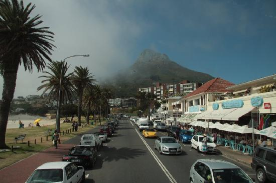 Camp's Bay Beach : Camp's Bay from the City Sightseeing Bus Stop