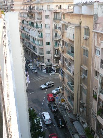 Paradise Residence: Kaboushia St (Cairo St.) from balcony