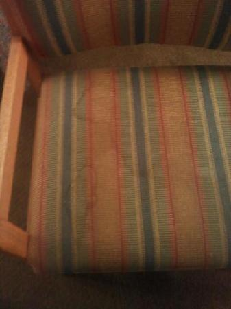 Vacationer Motel: picture doesn't portray how nasty these chairs were