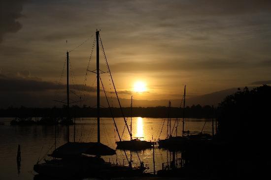 Sunrise at Rio Dulce