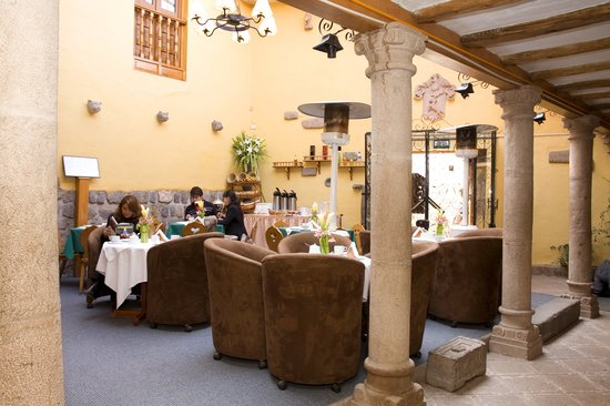 Los Apus Hotel & Mirador: El Patio Restaurant featuring Cusco's and int'l gastronomy