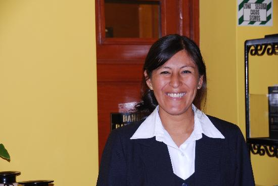 Casa Arequipa: One of the wonderful hostesses