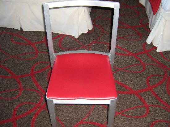 Bally's Atlantic City : The only chair in the room