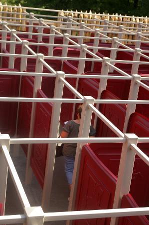 Horseshoe Adventure Park: Human Maze
