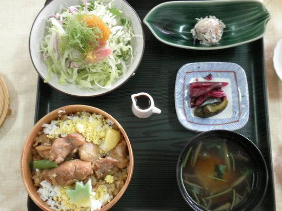 Hanazen: 鶏めし膳