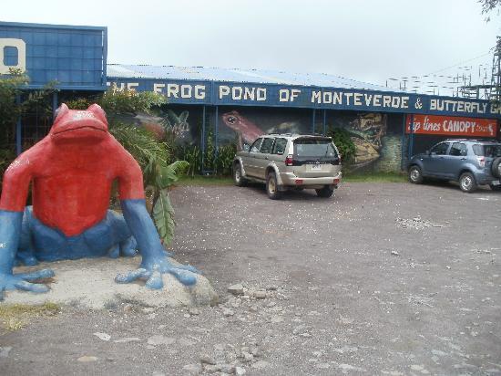 Monteverde Theme Park: the front