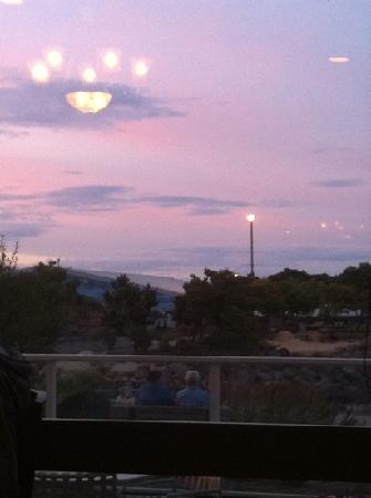 Crabhouse: Evening sea view from Crab House is very beautiful.