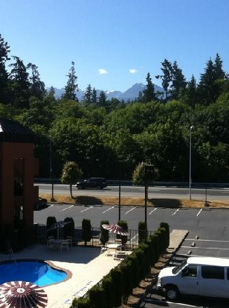 Days Inn by Wyndham Port Angeles: A view from my room.