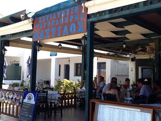 Nautilos Restaurant : Nautilos fish restaurant