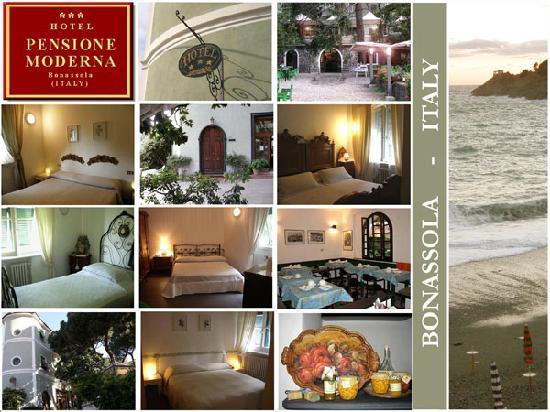 Hotel Pensione Moderna : PENSIONE MODERNA - Dal 1950  un hotel in stile ligure provenzale