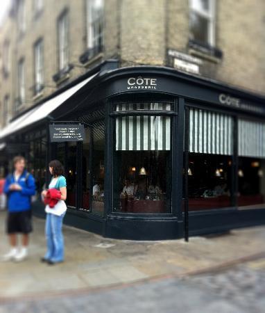 Cote Brasserie - Cambridge : Corner location