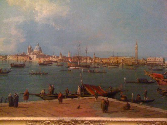 Wallace Collection: One of the many Canaletto paintings