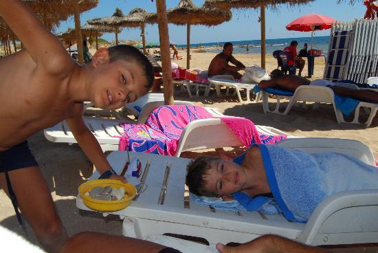 Baia del Sole Villaggio: spiaggia rilassante