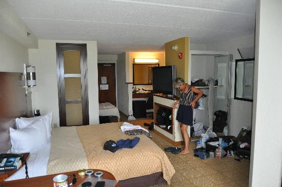 Hyatt Place Columbia: Hotel room