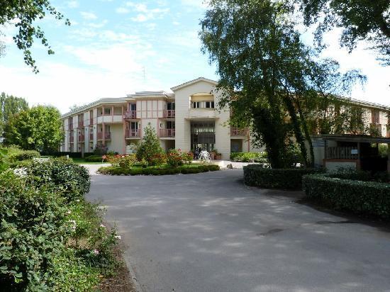 Pierre & Vacances Residenz Les Jardins de la Cote d'Opale: Vue à l'arrivée