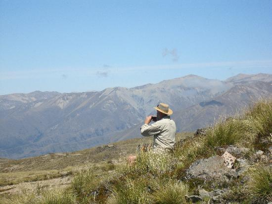 Omarama TOP 10 Holiday Park: Tramping in the area