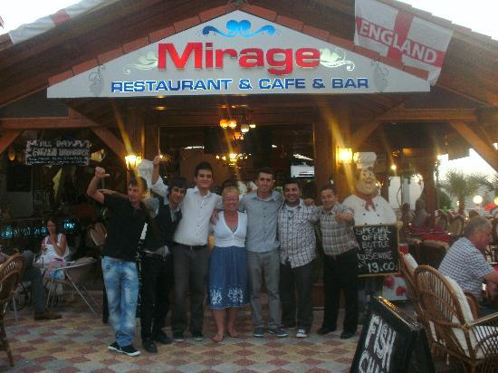 Mirage Hotel Restaurant & Bar: The place to be seen!!!!!!!