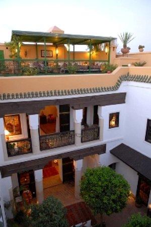 Riad Karmela: Main courtyard