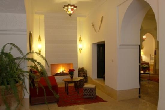 Riad Karmela: Winter lounge