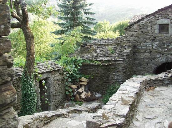 le hameau Castagnols au coeur du Parc National des Cévennes