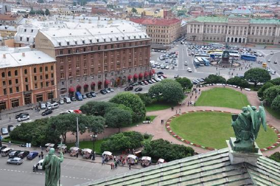 Astoria Hotel: Hotel seen from St Isaac's Cathedral