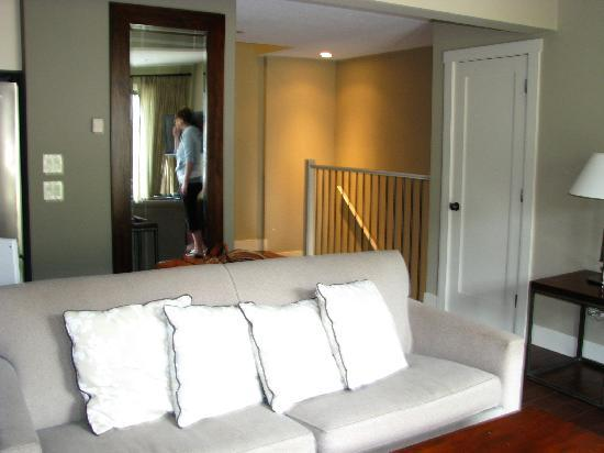 Panorama Mountain Resort: Our living room area