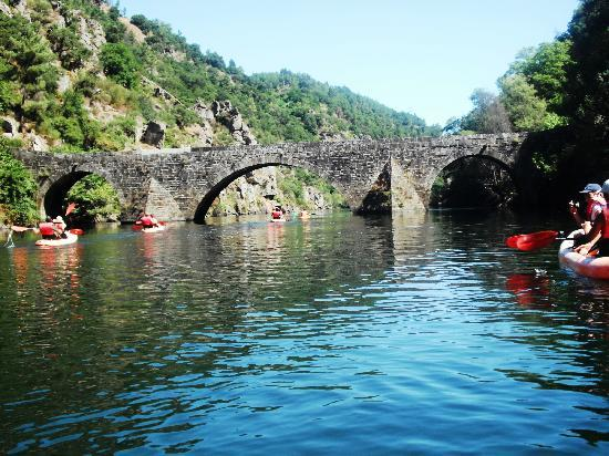 Hotel da Montanha : canoagem rio zezere