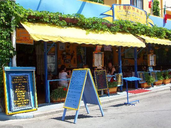 Hotel Athena: Thoma's taverna