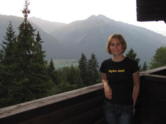 Hotel Pension Tyrol: room balcony view