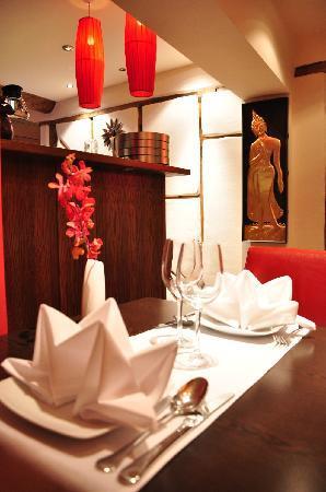Lemongrass Thai Restaurant: IMMACULATE