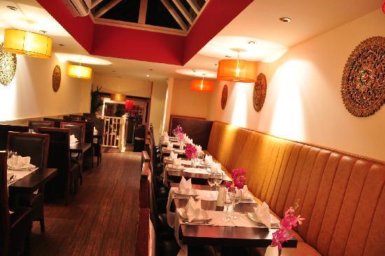Lemongrass Thai Restaurant: Fabulous lay out