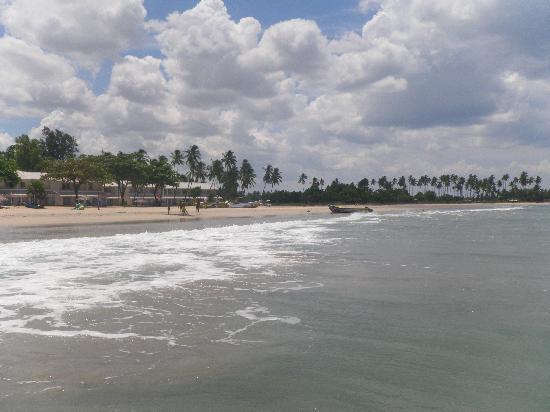 โรงแรมชายา บลู ทรินโคมาลี: The beach