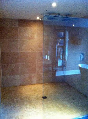 The Grosvenor Arms : The biggest shower I've ever seen!