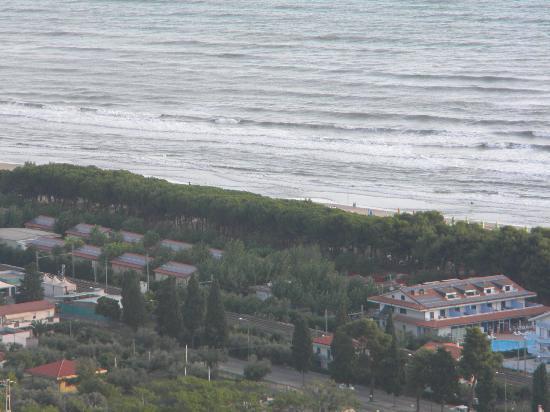 Villaggio Europa Unita: panoramica dall'alto sul villaggio
