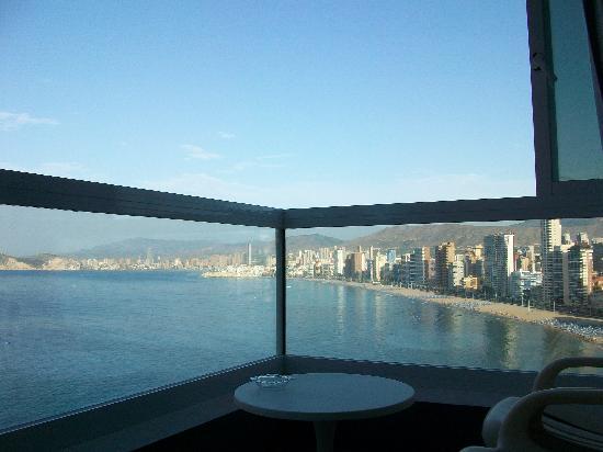 Hotel Benikaktus: Balcon