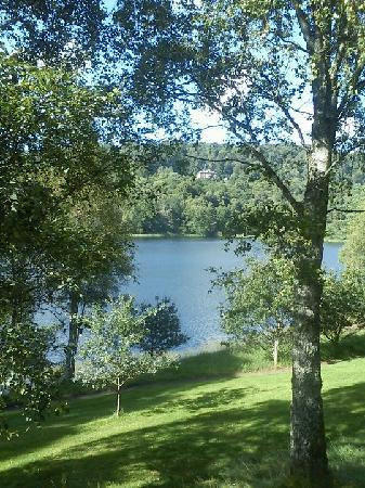 Loch Monzievaird Self Catering Lodges: The view from our Log Cabin