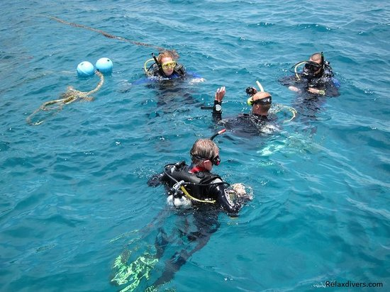 Advanced open water Relax Divers