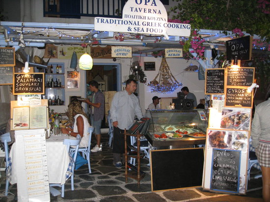 Opa Taverna : the man himself