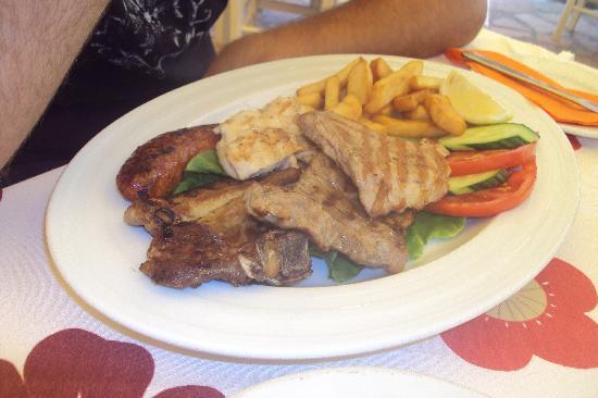 Nereids Restaurant & Bar: Grigliata di carne