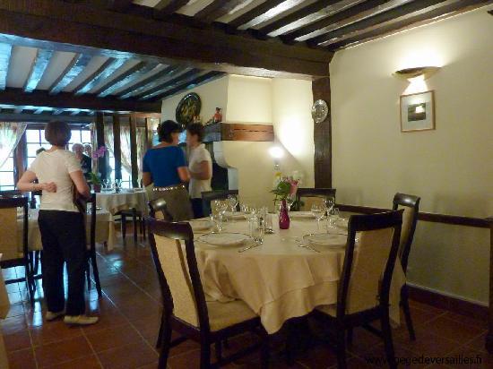 Aux Landiers : L'une des deux salles du restaurant