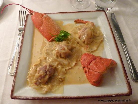 Aux Landiers : Les ravioles de homard