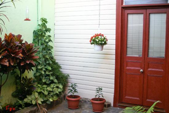 Taylor Inn B & B: Garden room