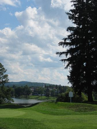 The Otesaga Resort Hotel: view from golf course