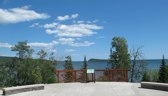 Grand Portage, MN: View from the Heritage Center