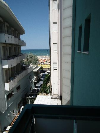 La Residenza : Balcone vista mare