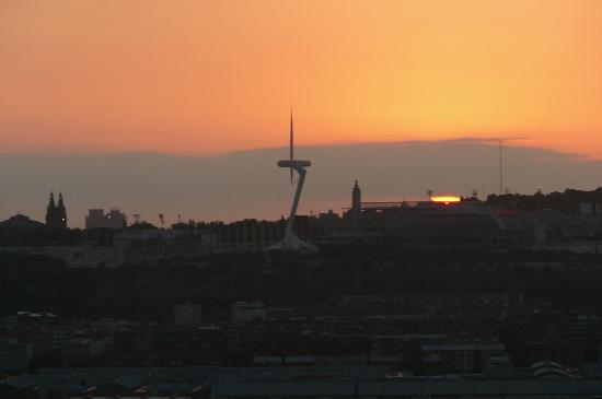 Hesperia Tower : Sunrise view